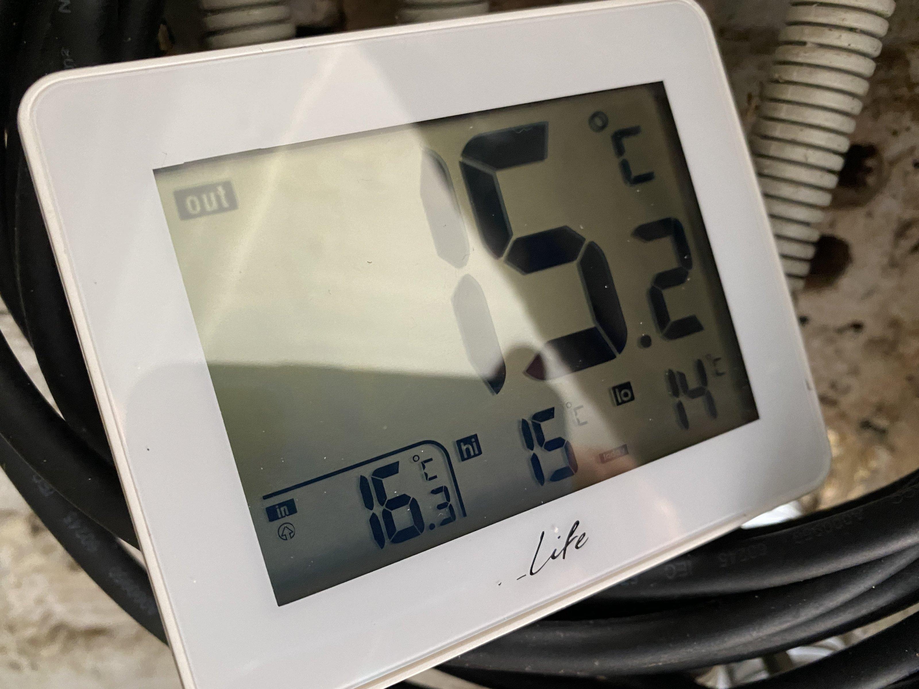 Ψηφιακό θερμόμετρο λίμνης 3